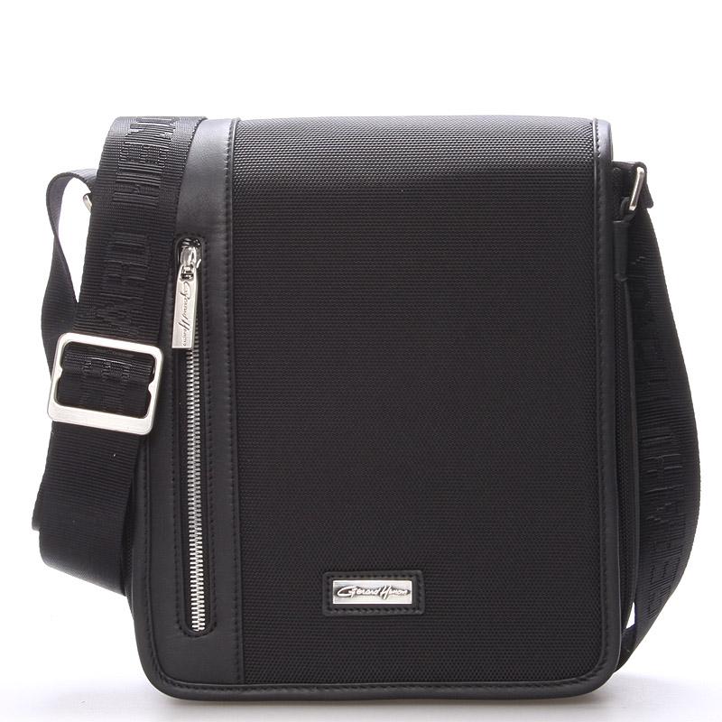 Pánská taška přes rameno černá - Gerard Henon Pierre
