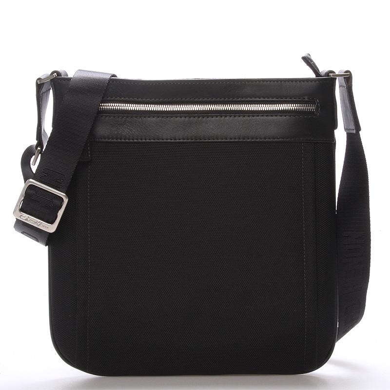 Pánská taška přes rameno na doklady černá - Gerard Henon Daniel