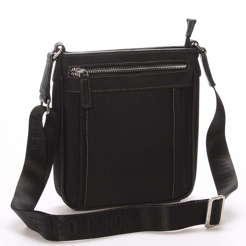 Pánská taška přes rameno na doklady černá - Gerard Henon Nicolas
