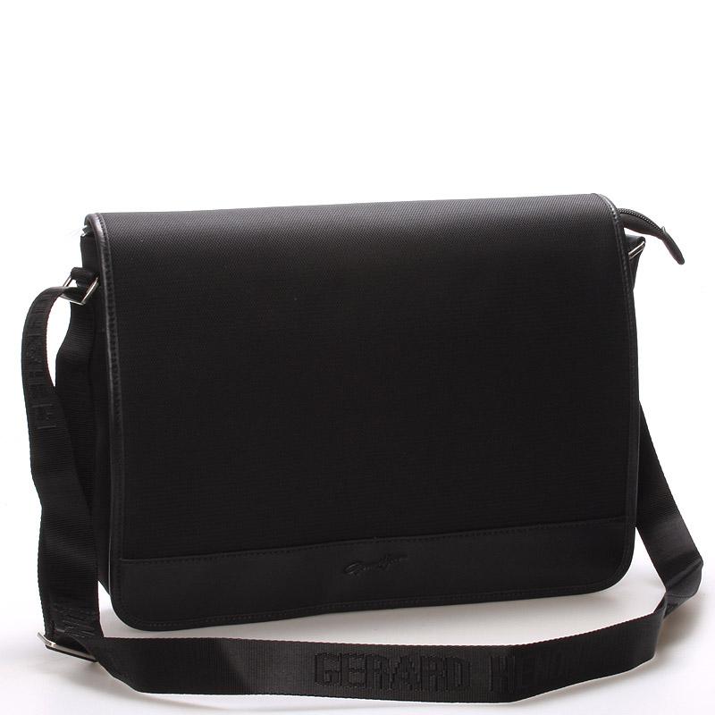 Pánská elegantní taška přes rameno černá - Gerard Henon Laurent