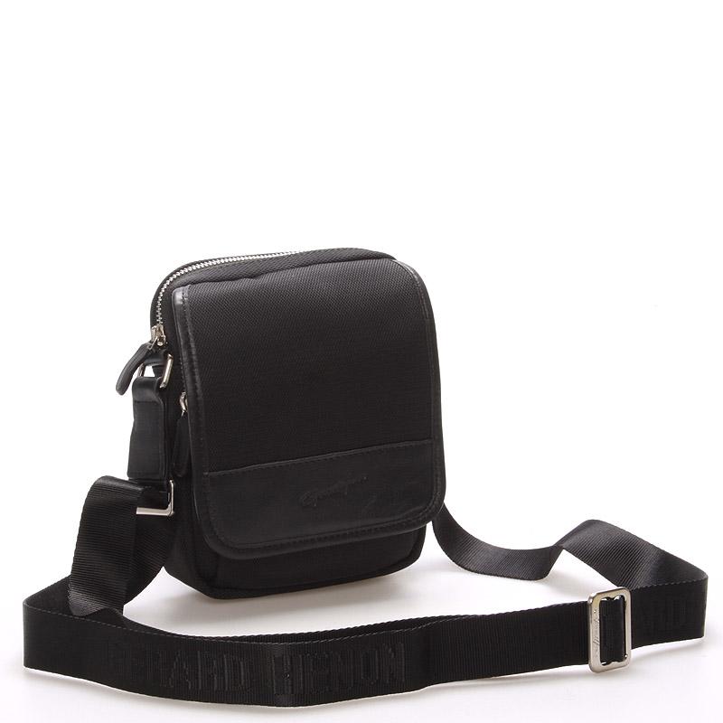 Pánská taška přes rameno na doklady černá - Gerard Henon Eric