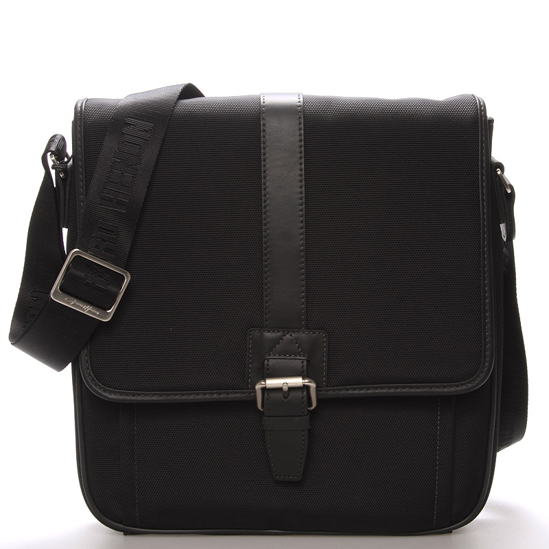 Pánská taška přes rameno černá - Gerard Henon Olivier