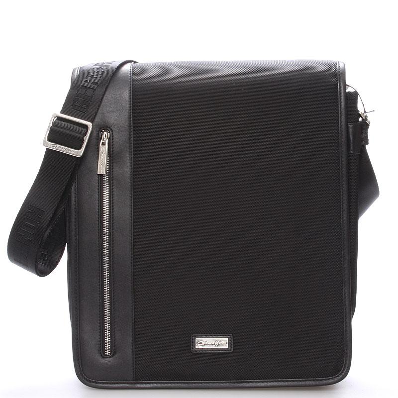 Pánská taška přes rameno černá - Gerard Henon Talbot
