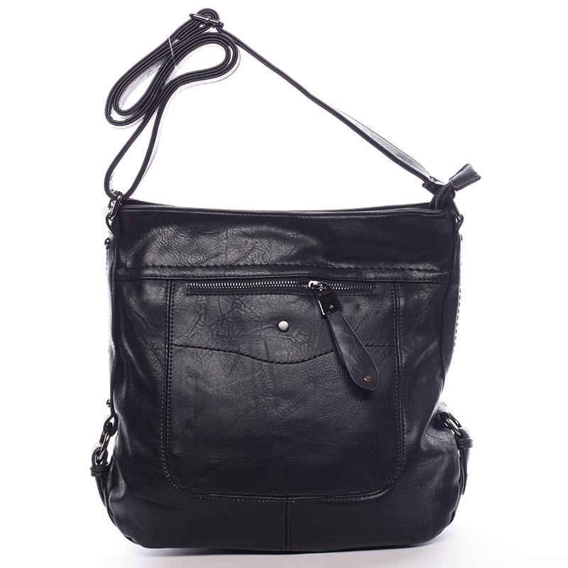 Dámská crossbody kabelka černá - Delami Vivienne