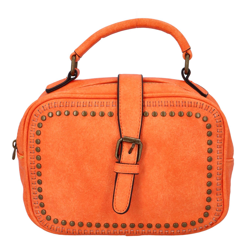 Dámská originální kabelka oranžová - Paolo Bags Sami