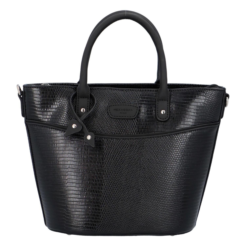 Malá dámská kabelka do ruky černá - Hexagona SanDeep