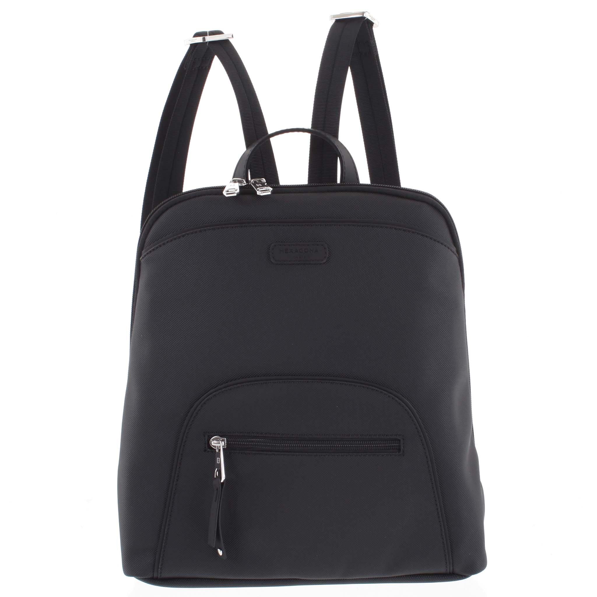 Dámský batoh černý - Hexagona Smalmer