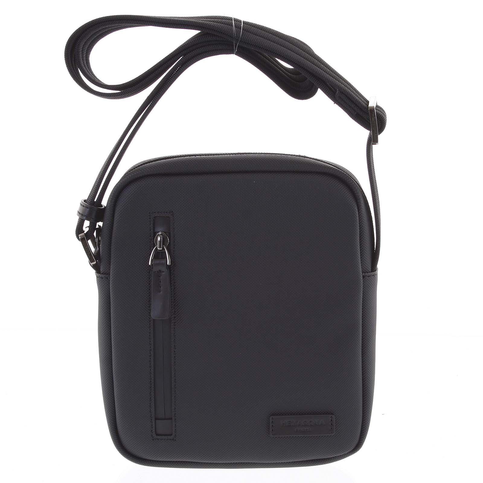 Pánská taška na doklady černá - Hexagona Arzo