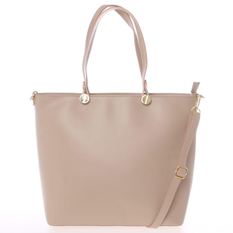 Dámská kožená kabelka tělová - Delami Valentina