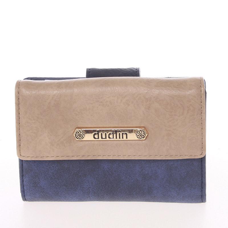 Dámská peněženka modrá - Dudlin M263