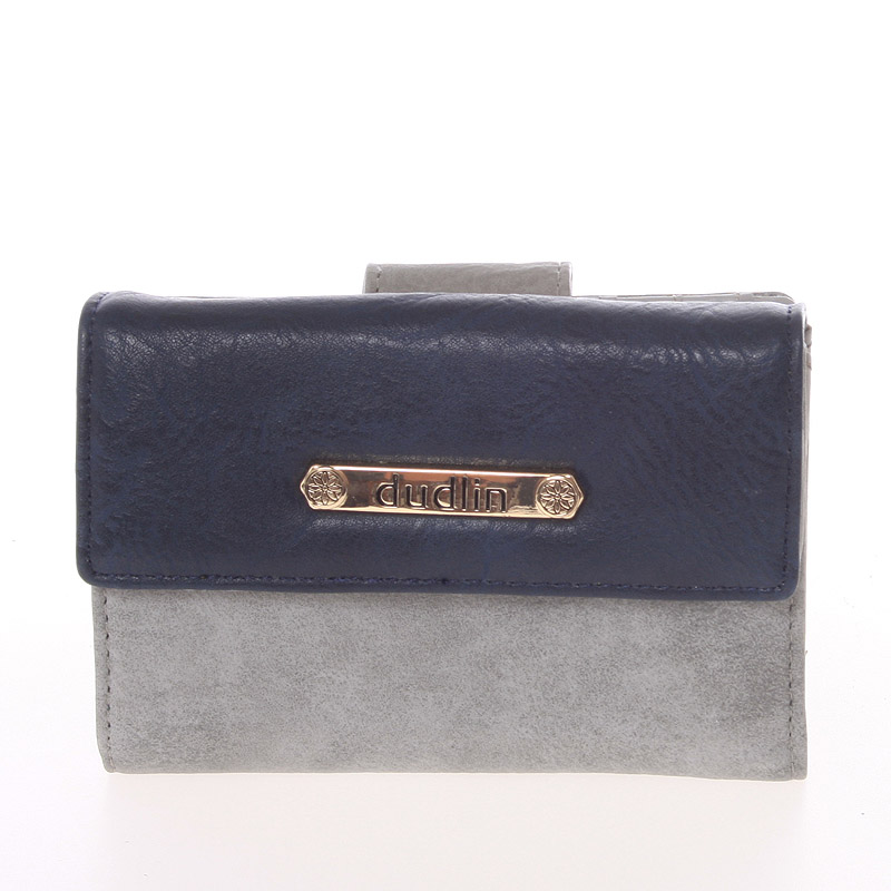Dámská peněženka šedá - Dudlin M263