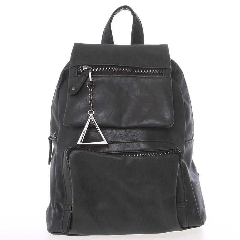 Trendy městský batůžek černý - Just Dreamz Kaydence