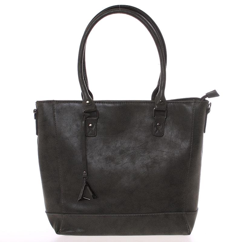 Módní kabelka přes rameno tmavě šedá - Just Dreamz Brooke