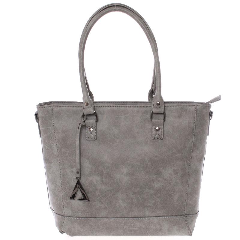 Módní kabelka přes rameno šedá - Just Dreamz Brooke
