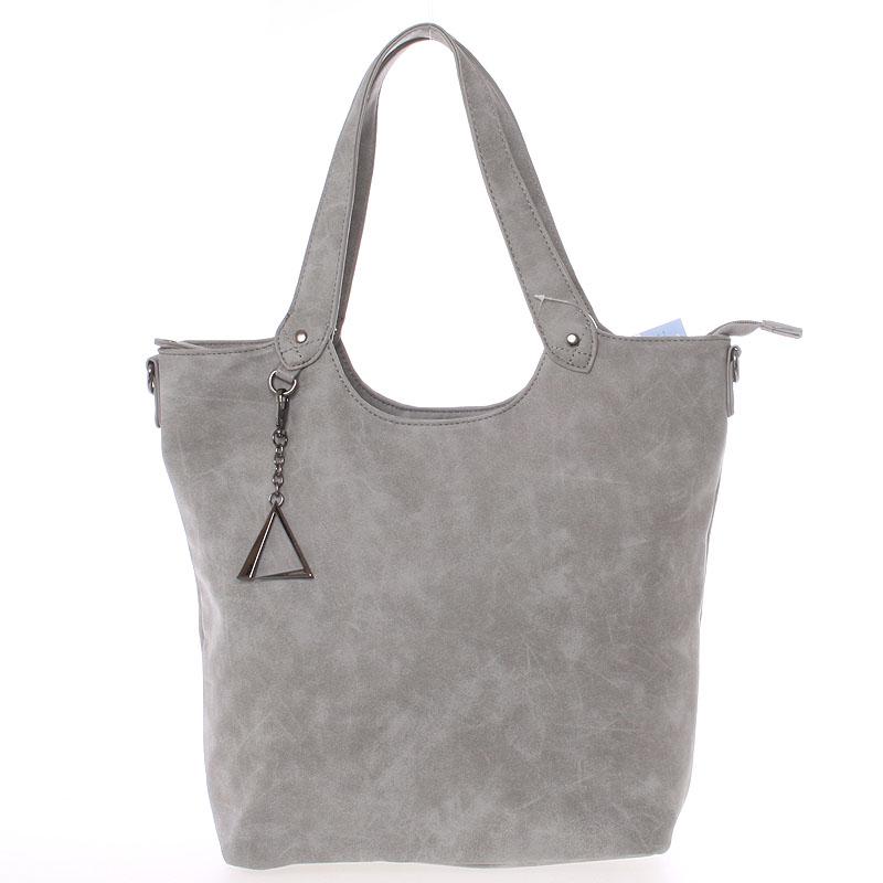 Originální dámská kabelka šedá - Just Dreamz Jaida