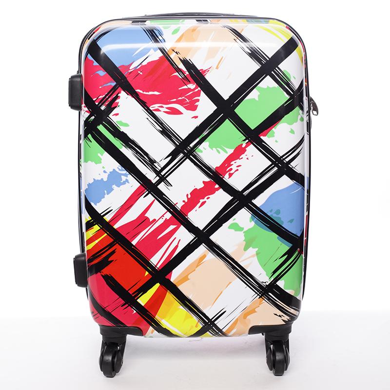 Cestovní kufr pevný barevný - David Jones California L