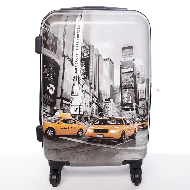 Cestovní kufr New York - David Jones L