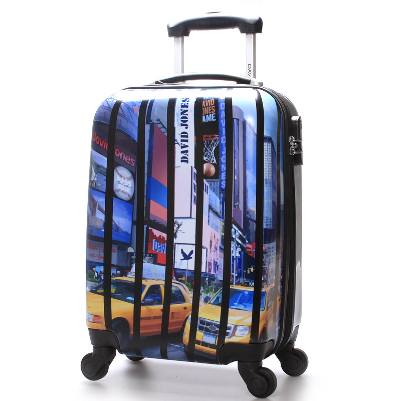 Cestovní kufr - David Jones Real NY L