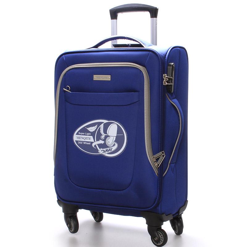 Cestovní kufr modrý - Menqite Olive S