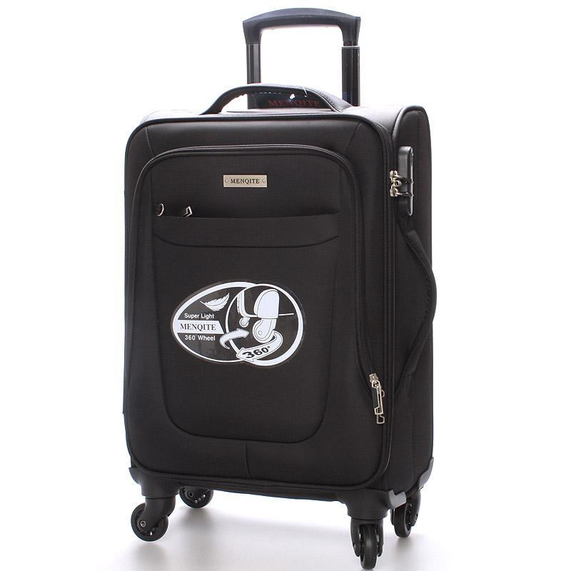 Cestovní kufr černý - Menqite Olive L