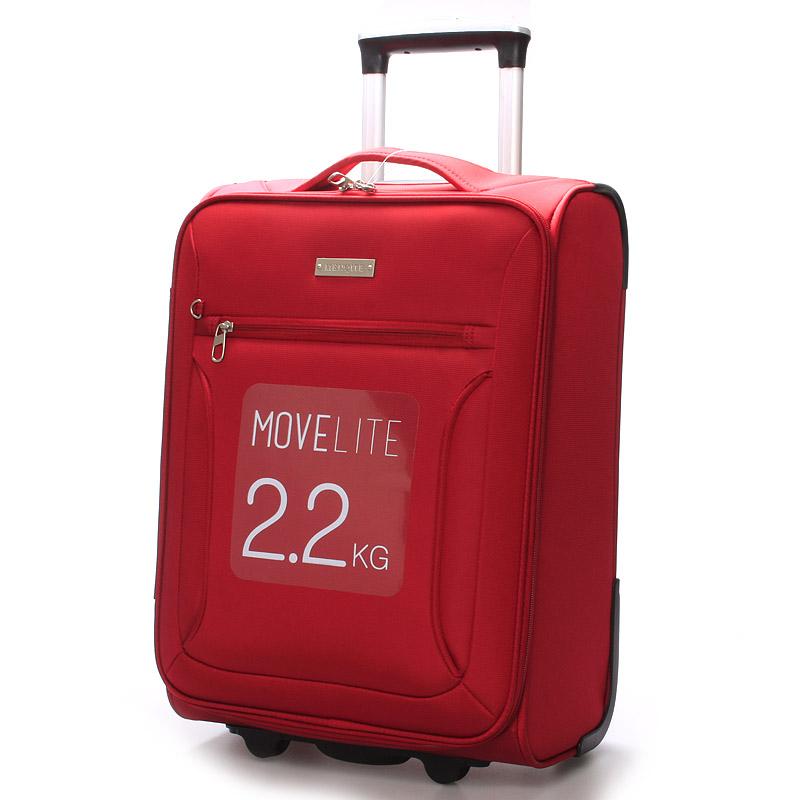 Cestovní kufr červený - Menqite Missa S