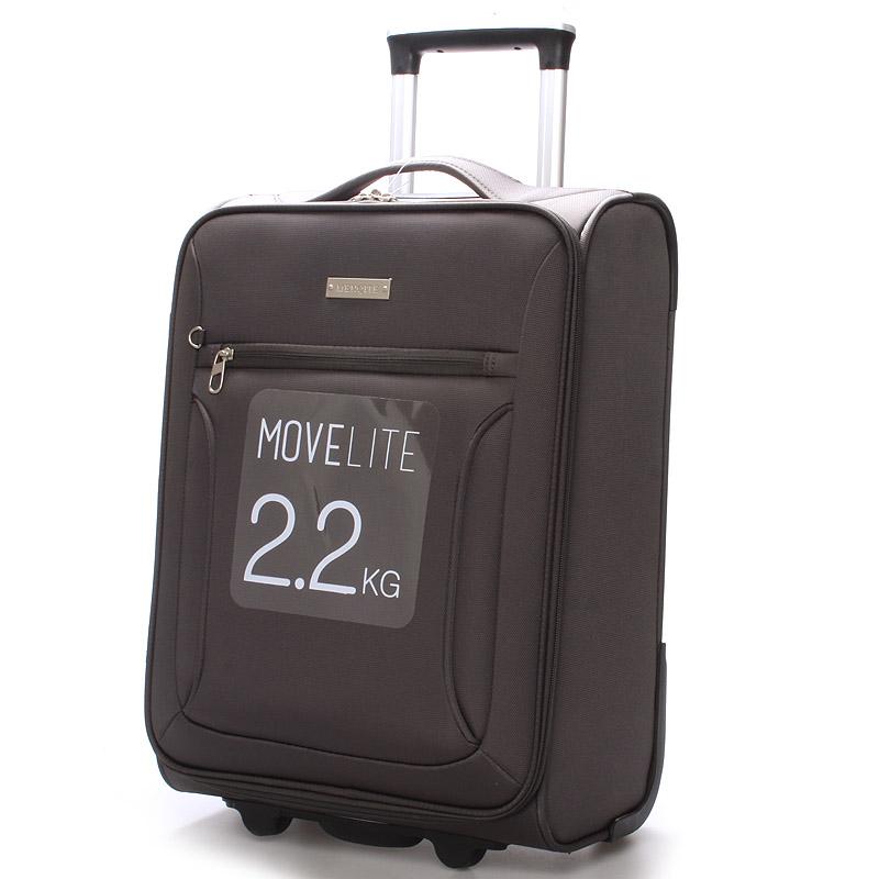 Cestovní kufr šedý - Menqite Missa S