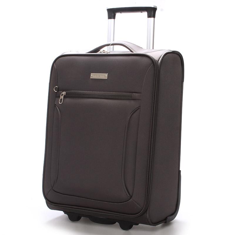 Cestovní kufr šedý - Menqite Missa L