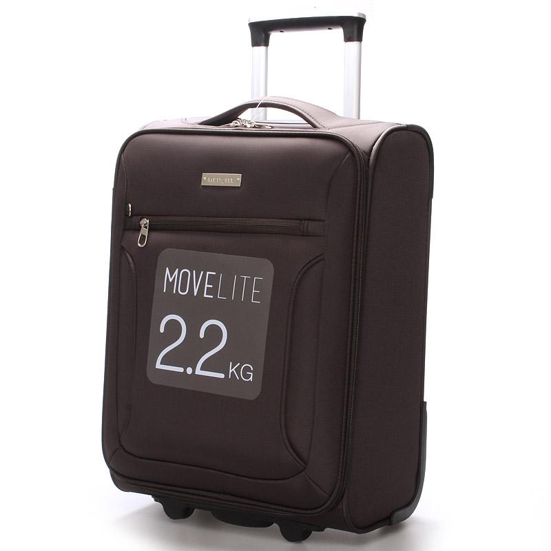 Cestovní kufr hnědý - Menqite Missa S