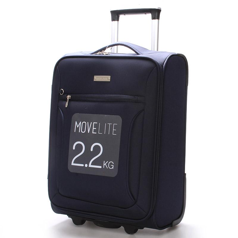 Cestovní kufr modrý - Menqite Missa S