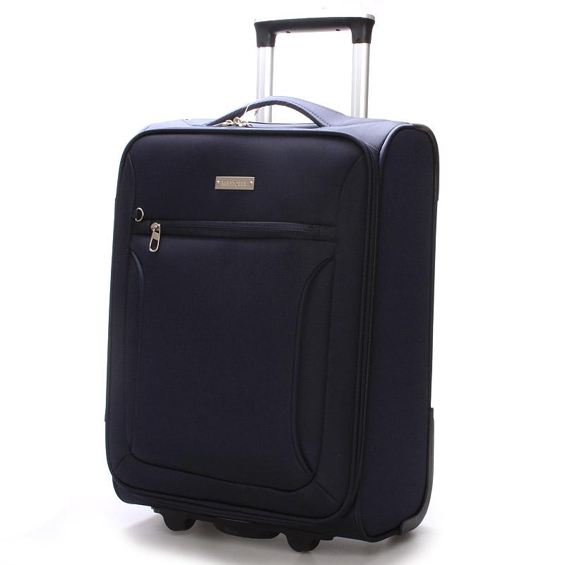Cestovní kufr modrý - Menqite Missa M