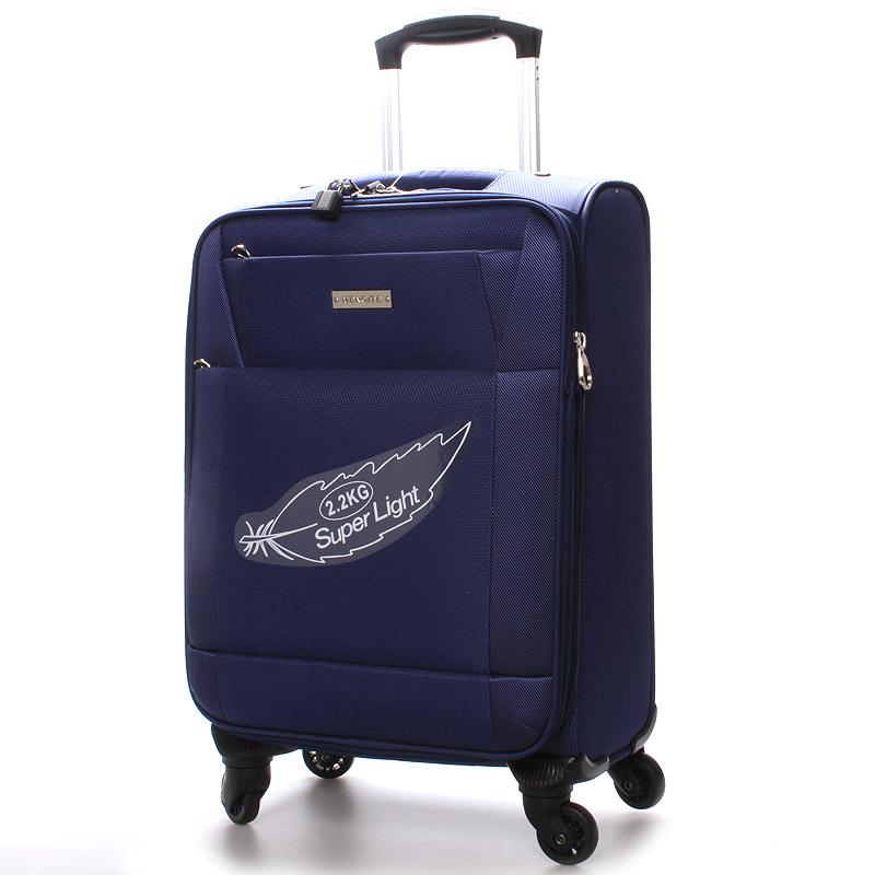 Cestovní kufr modrý - Menqite Prue M