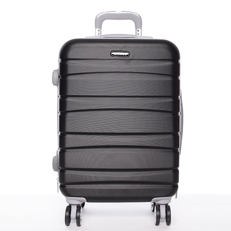 Cestovní pevný kufr černý - Mahel Rayas M
