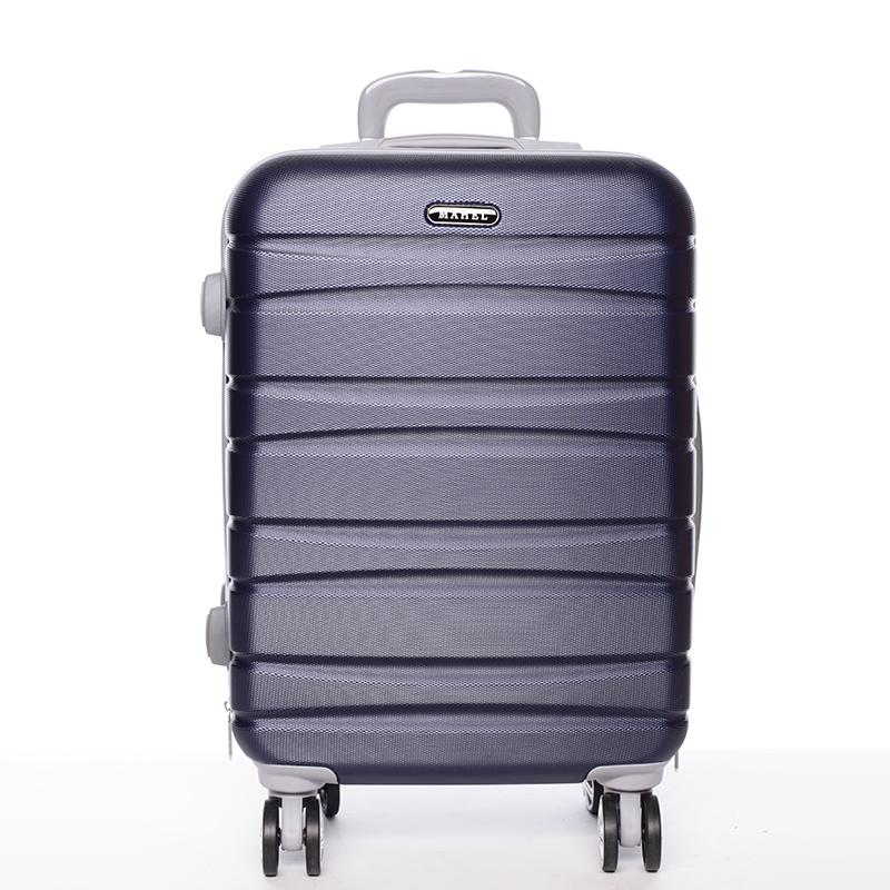 Cestovní pevný kufr tmavě modrý - Mahel Rayas S