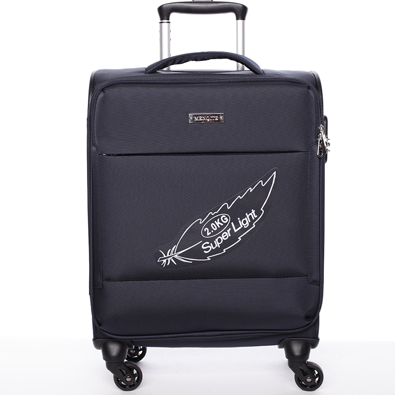Odlehčený cestovní kufr tmavě modrý - Menqite Kisar L