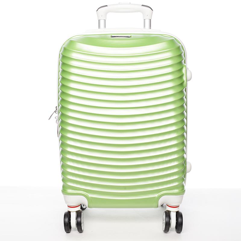 Zelený cestovní kufr pevný - Ormi Jellato M