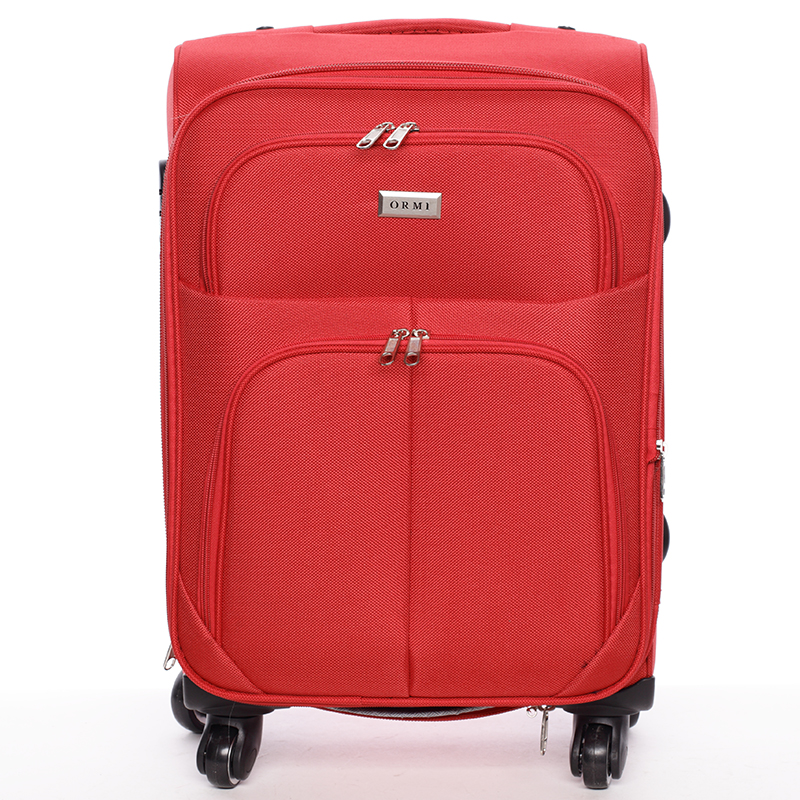 Cestovní kufr červený - Ormi Tessa L