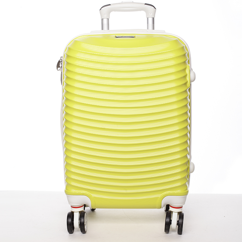 Žlutý cestovní kufr pevný - Ormi Jellato S