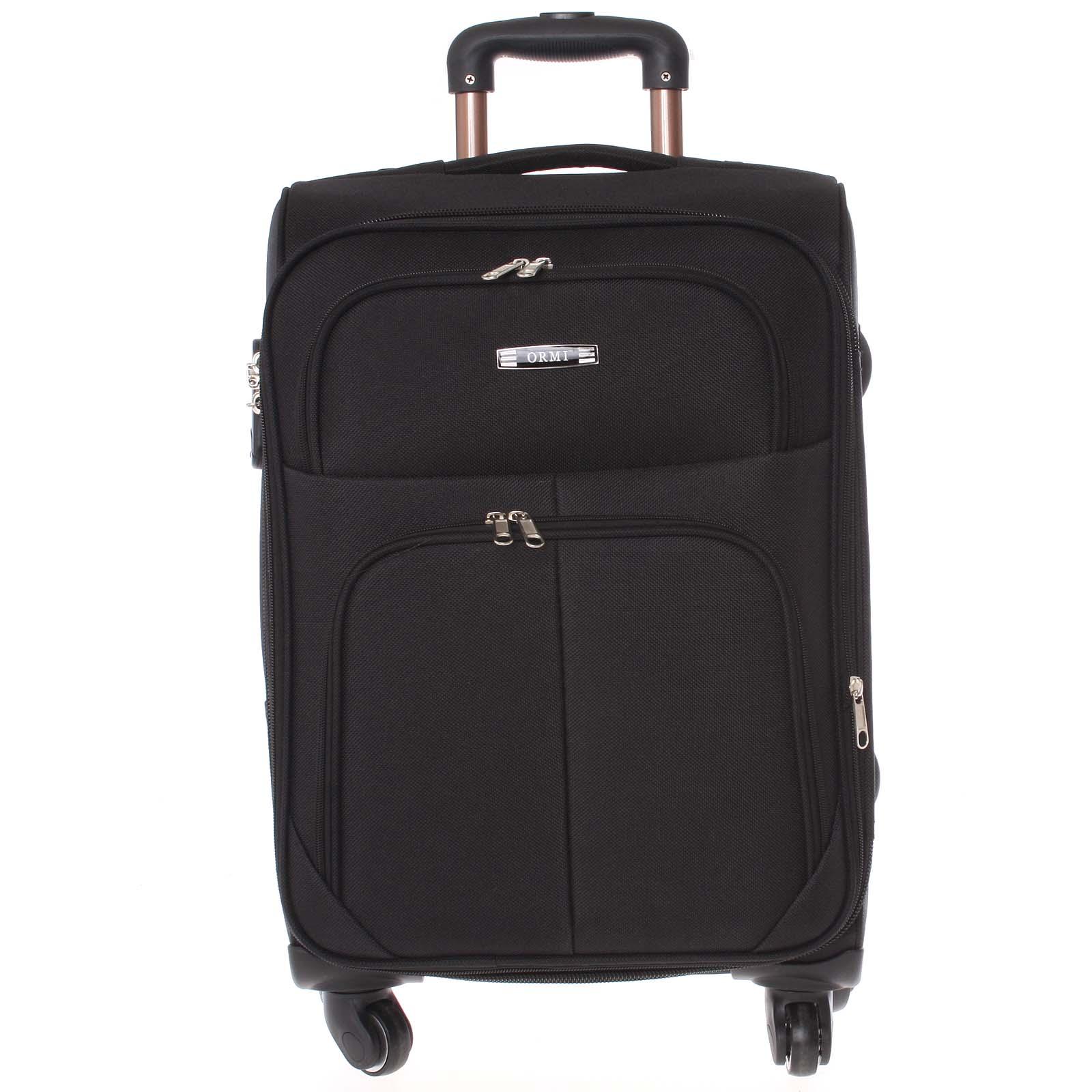 Cestovní kufr černý - Ormi Tessa M