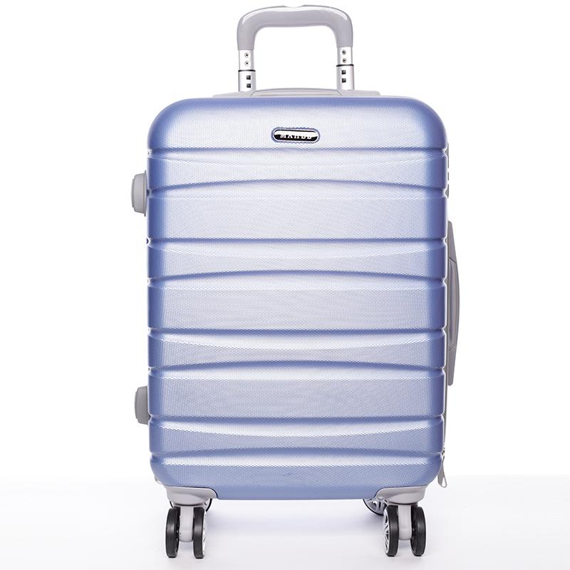 Cestovní pevný kufr fialový - Mahel Rayas L