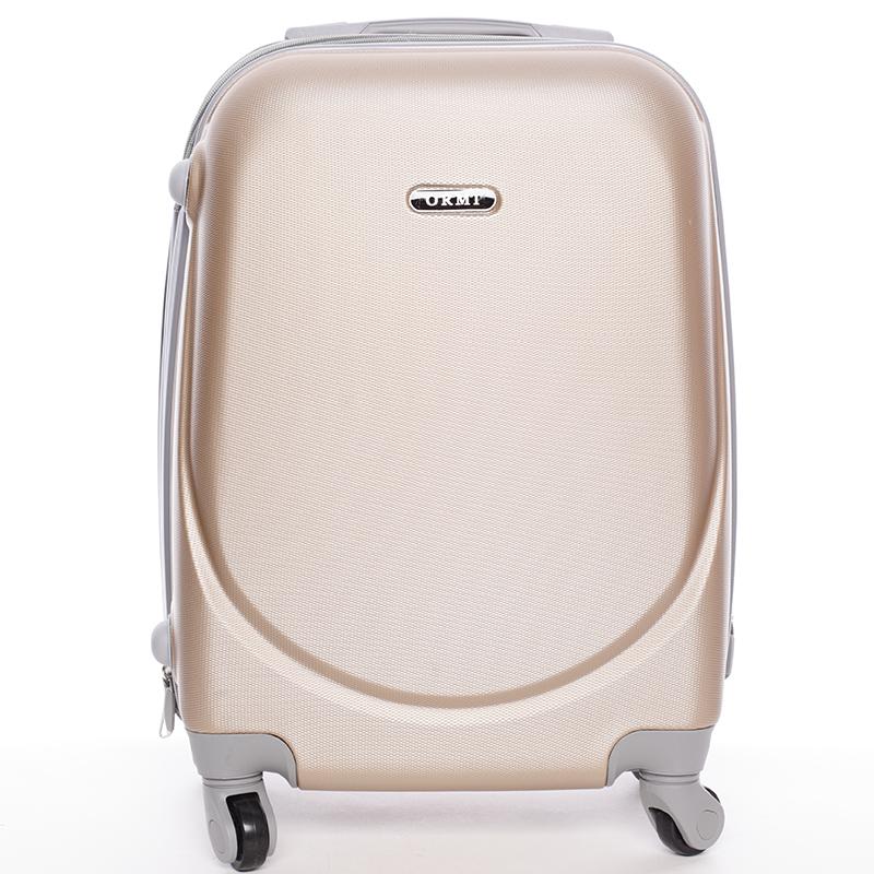 Pevný cestovní kufr zlatý - Ormi Evenger S