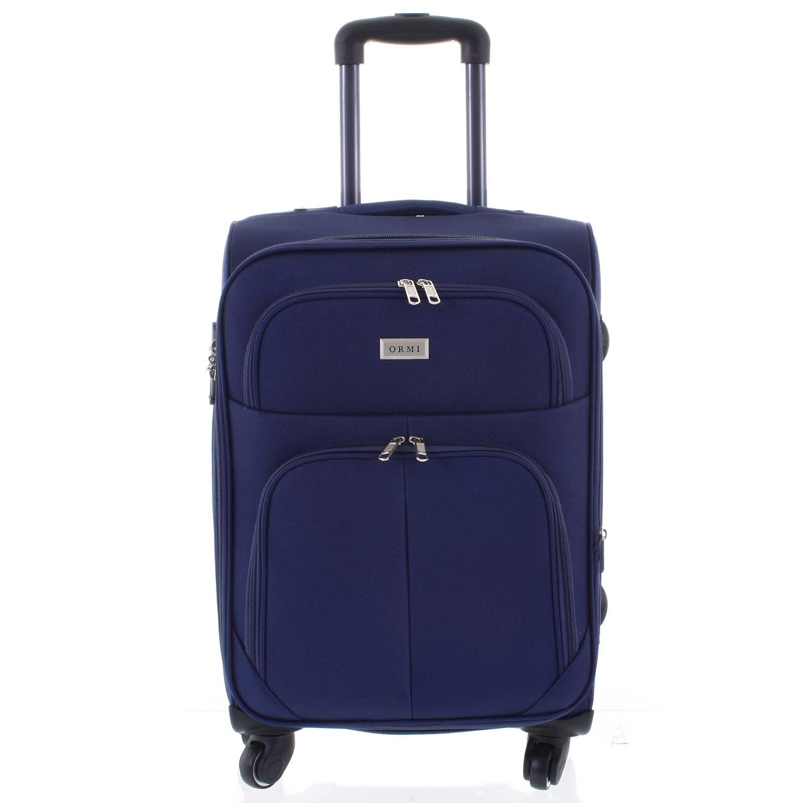 Cestovní kufr modrý - Ormi Tessa L