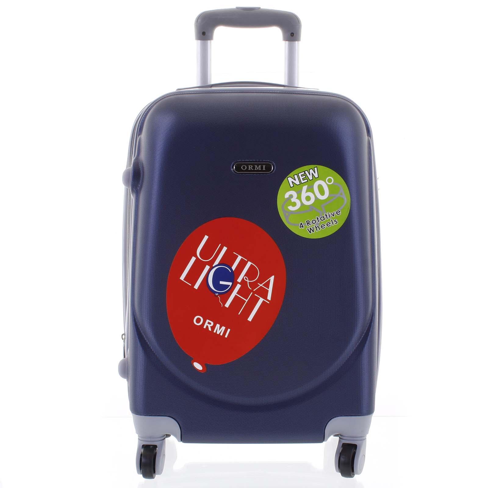 Pevný cestovní kufr modrý - Ormi Evenger L