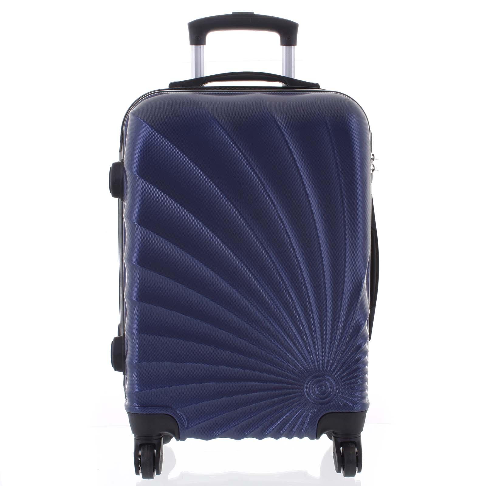 Originální pevný cestovní kufr modrý - Ormi Sheli M