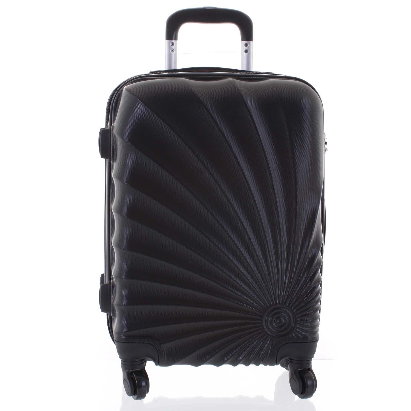 Originální pevný cestovní kufr černý - Ormi Sheli S