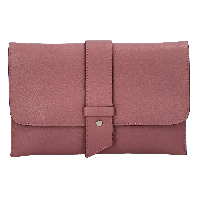 Luxusní dámská kabelka tmavě růžová - ItalY Brother