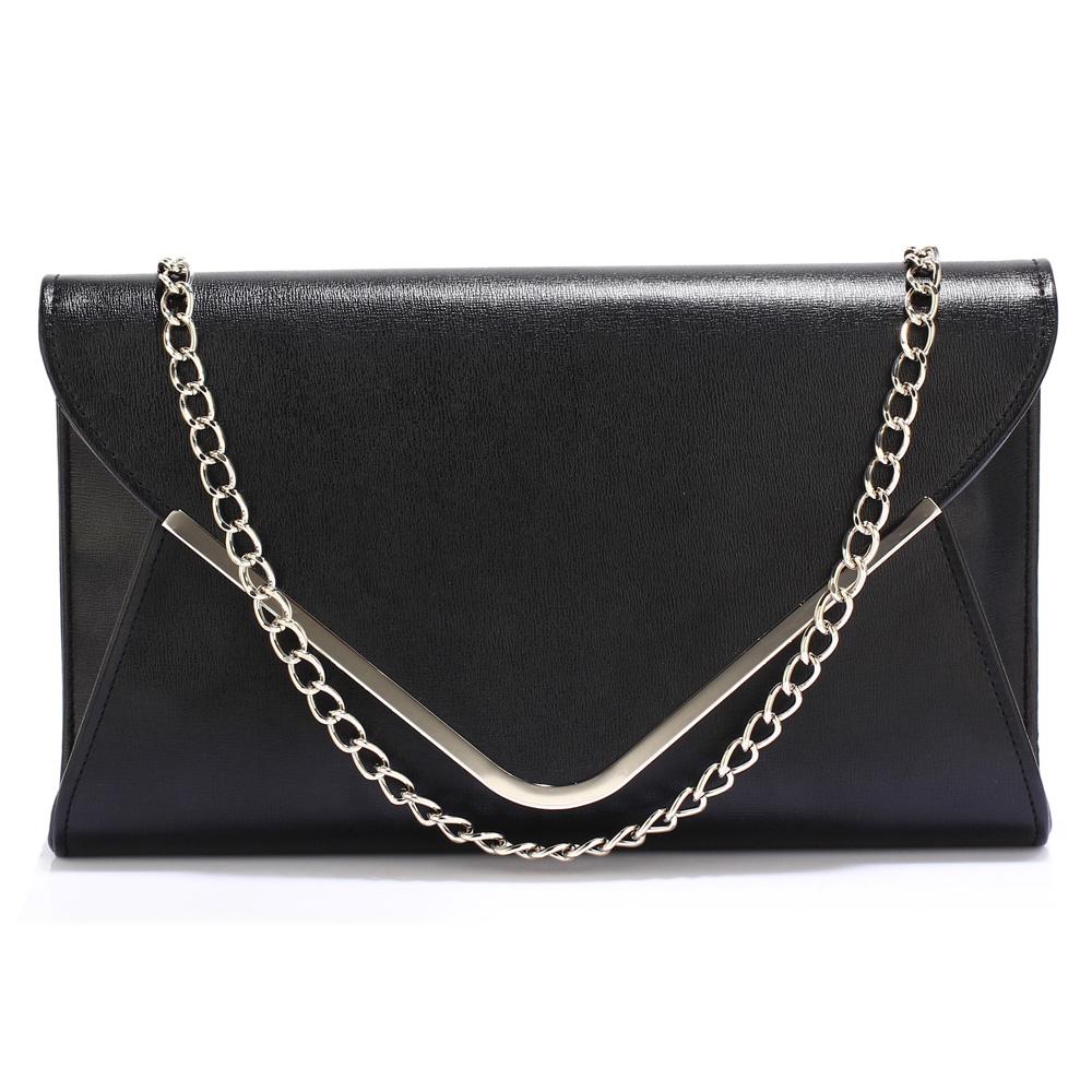 Elegantní černé psaníčko - LS Fashion Ilaria
