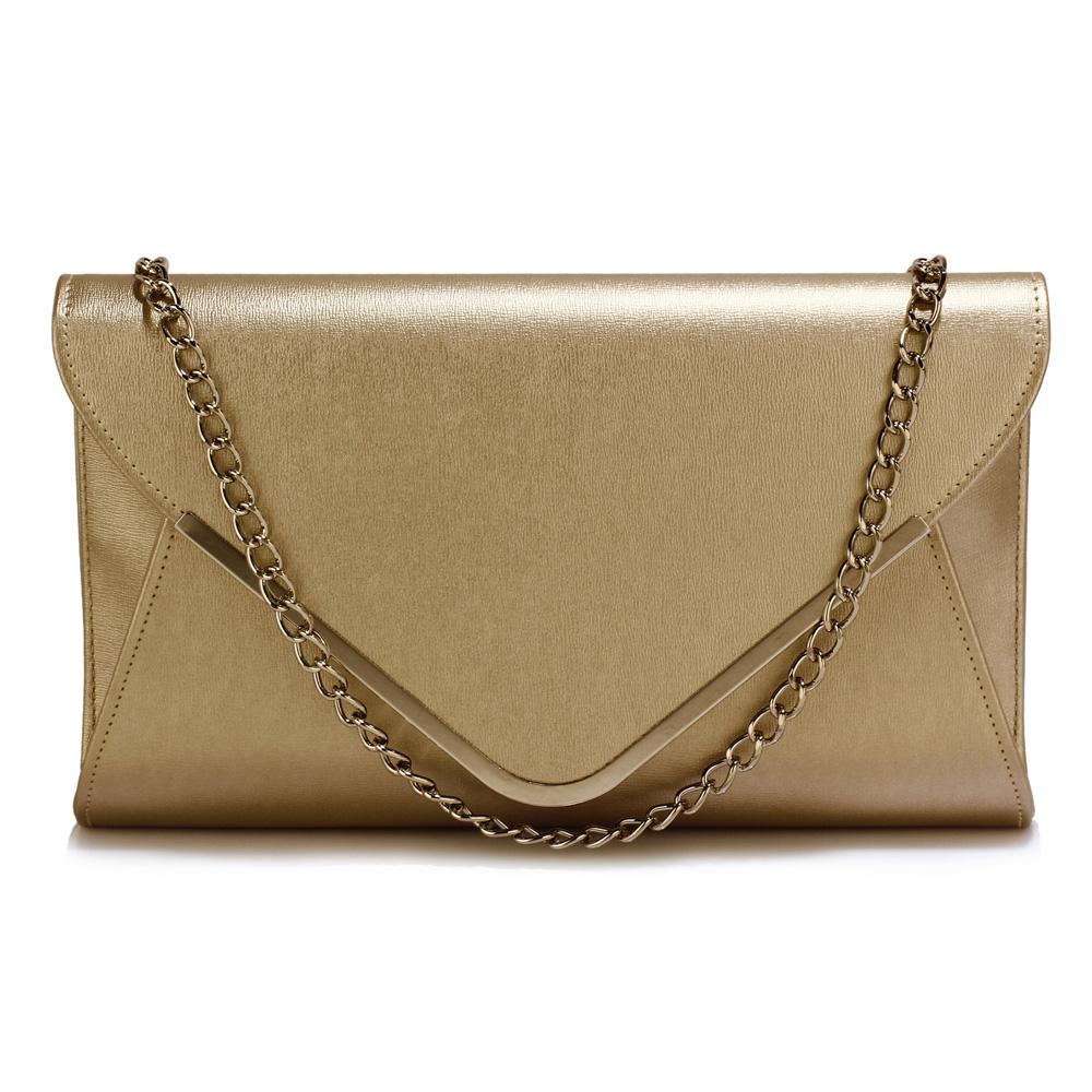 Elegantní zlaté psaníčko - LS Fashion Ilaria