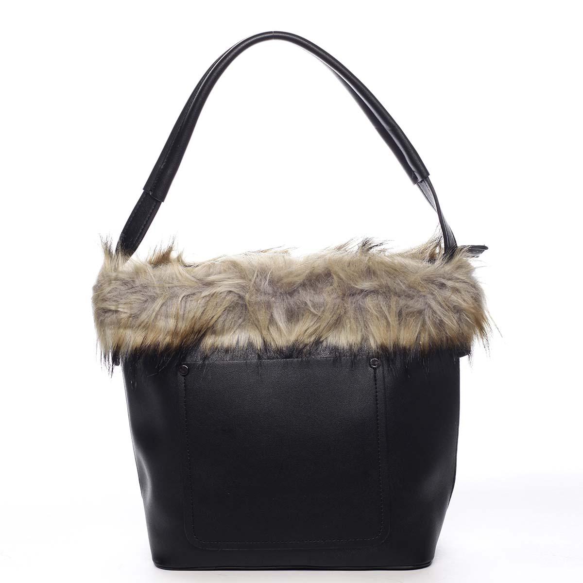 Dámská kabelka přes rameno černá - Maria C Triches