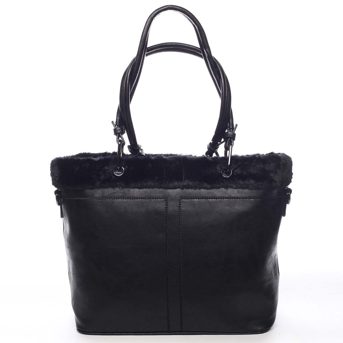 Dámská kabelka přes rameno černá - Maria C Lyra