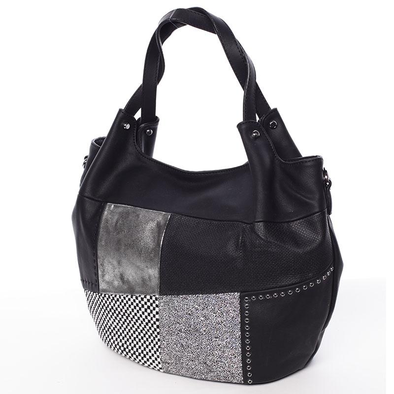 Trendy dámská kabelka do ruky černá - MARIA C Cadence